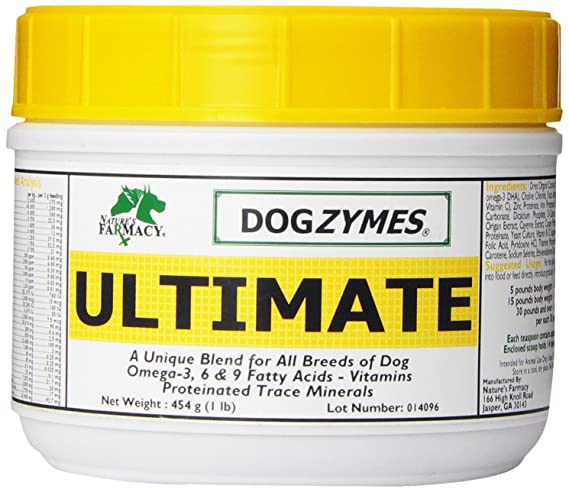 Amazon.com : Dogzymes Ultimate for Best Skin/Coat with Organic Coconut (1 Pound) : Pet Digestive Remedies : Pet Supplies