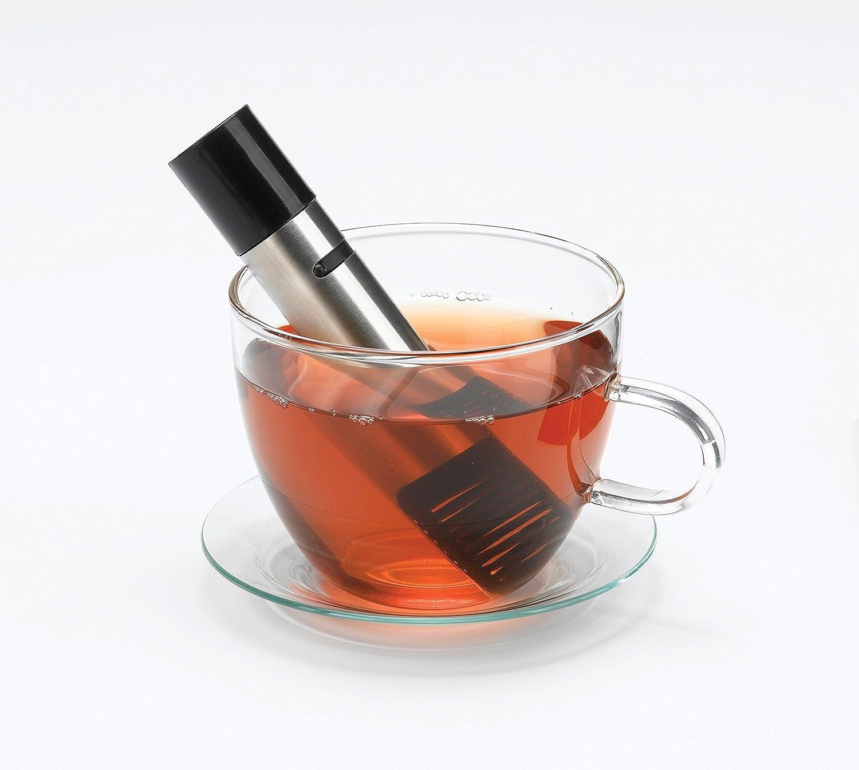 Zevro PROZ - Dispensador kch-06066 Incred una inmersión brew-direct sistema de preparación para cafetera Infusor de té Chrome/Black: Amazon.es: Hogar
