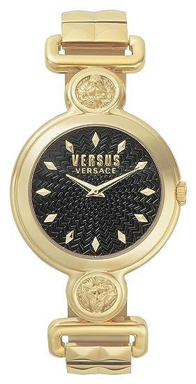 Versus by Versace Reloj Analogico para Mujer de Cuarzo con Correa en Acero Inoxidable VSPOL3418