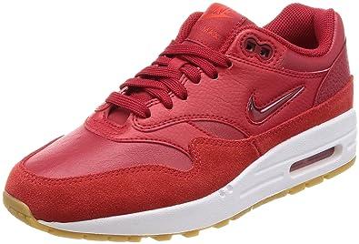 Nike W Air MAX 1 Premium SC, Zapatillas de Deporte para Mujer, Gym Red-Spee 602, 38 EU: Amazon.es: Zapatos y complementos