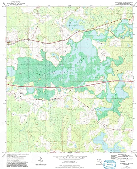 Greenville Florida Map.Amazon Com Yellowmaps Greenville Ne Fl Topo Map 1 24000 Scale