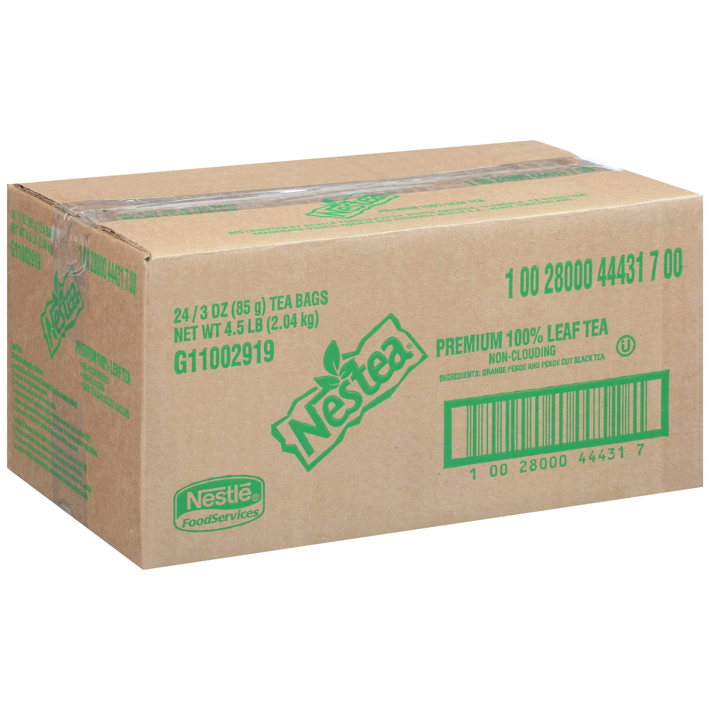 Nestea Premium 100 Percent Leaf Tea - 3 gallon tea bag - 24 per case