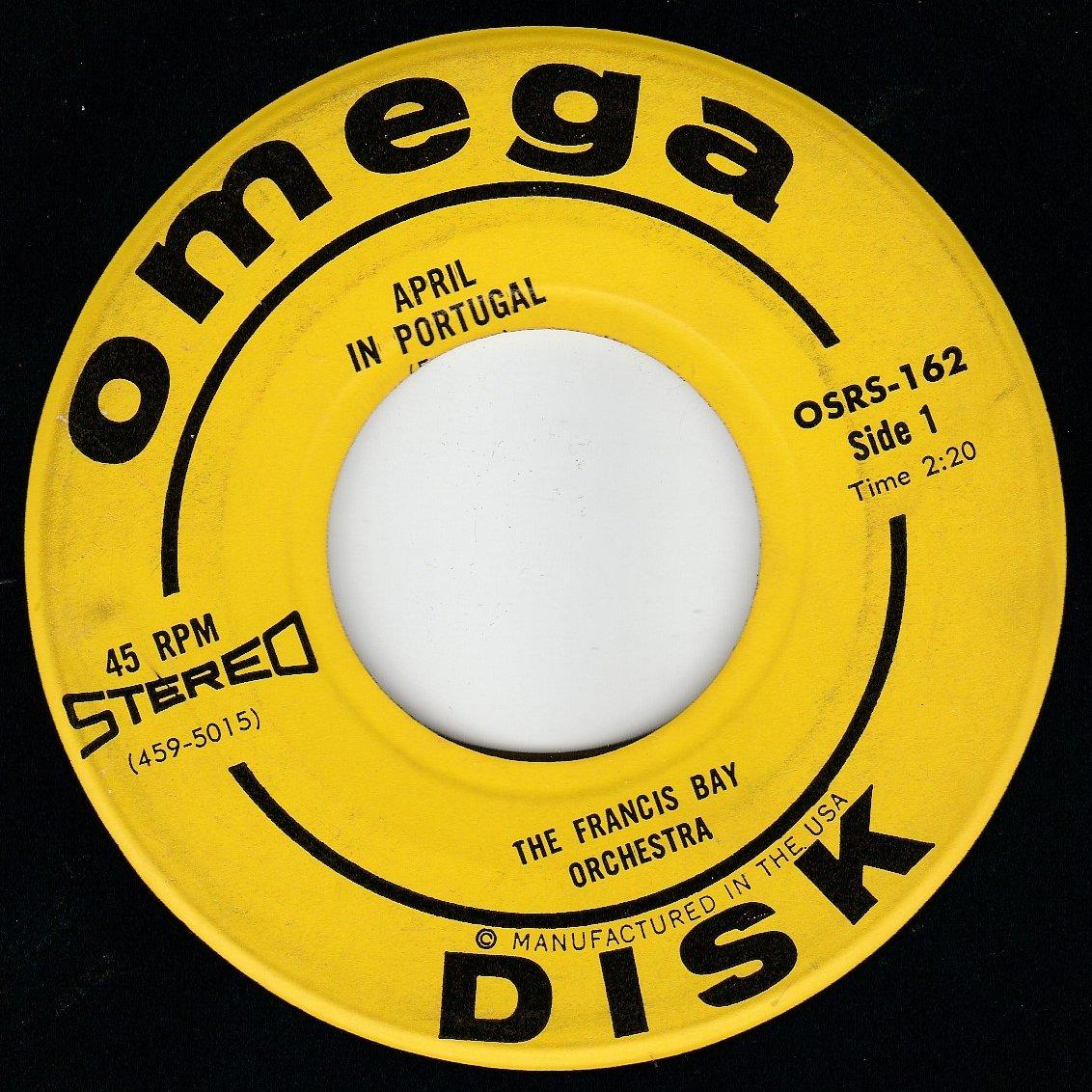 45vinylrecord April in Portugal/Mambo Jambo (7''/45 rpm)
