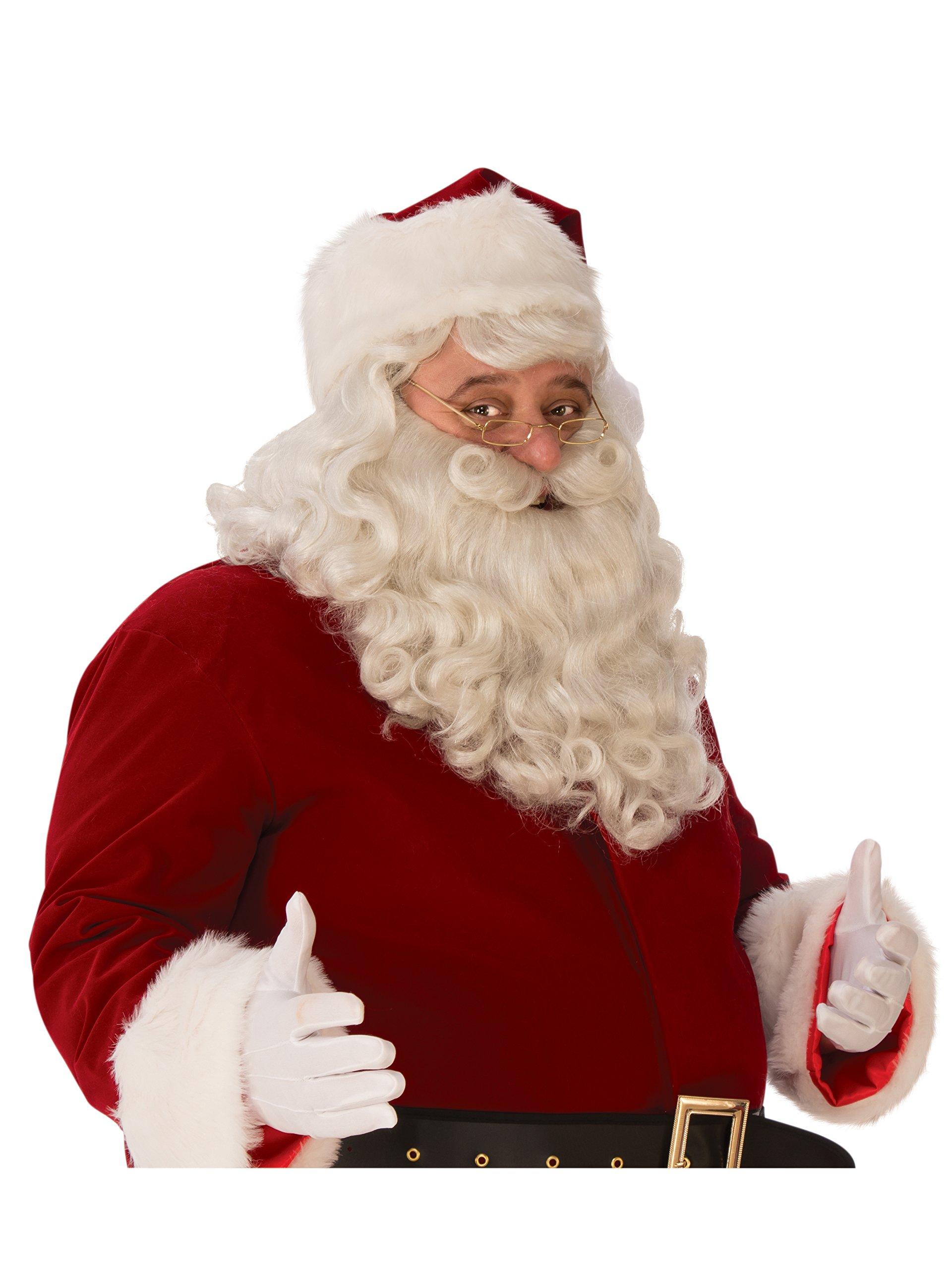 Adult Premium Santa Beard Wig Set