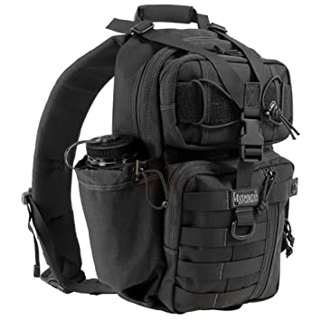 Amazon.com : Maxpedition Sitka Gearslinger, Black : Hunting Game ...