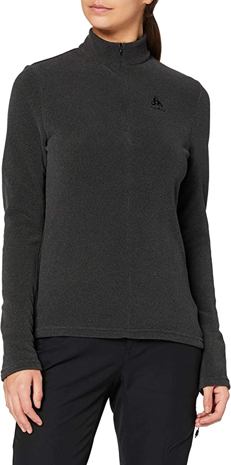 TALLA XS. Odlo Midlayer 1/2 Zip Roy Suéter pulóver, Mujer