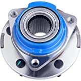 SCITOO 513203 Wheel Hub Bearing Assembly Front 2000-2008 for Chevrolet Impala 2003-2008 for Pontiac Grand Prix for Buick Cent