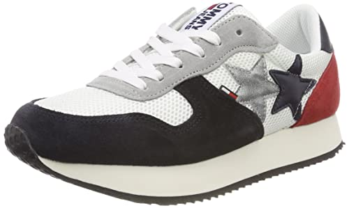Jeans SneakerZapatillas Star Para Mujer Tommy MSVpUz