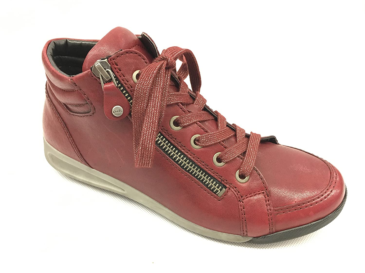 Ara Damen Bordo Rom-STF 12-44410 Hohe Sneakers Bordo Damen 67a068