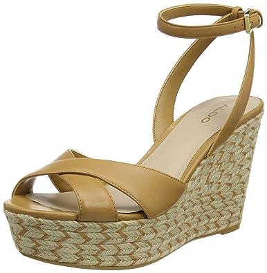 e836d2e5f036 Aldo Women s Annalynn Ankle Strap Sandals  Amazon.co.uk  Shoes   Bags