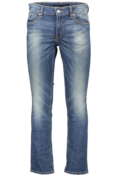 GUESS Jeans M62AN2D23T0 Denim Jeans Hombre Azul Dela 31 ...