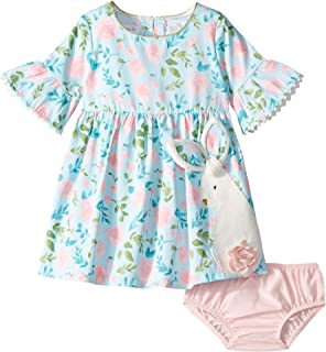 85d6928a9 Amazon.com: Mud Pie Baby Girls' Easter Holiday Sleeveless Casual ...