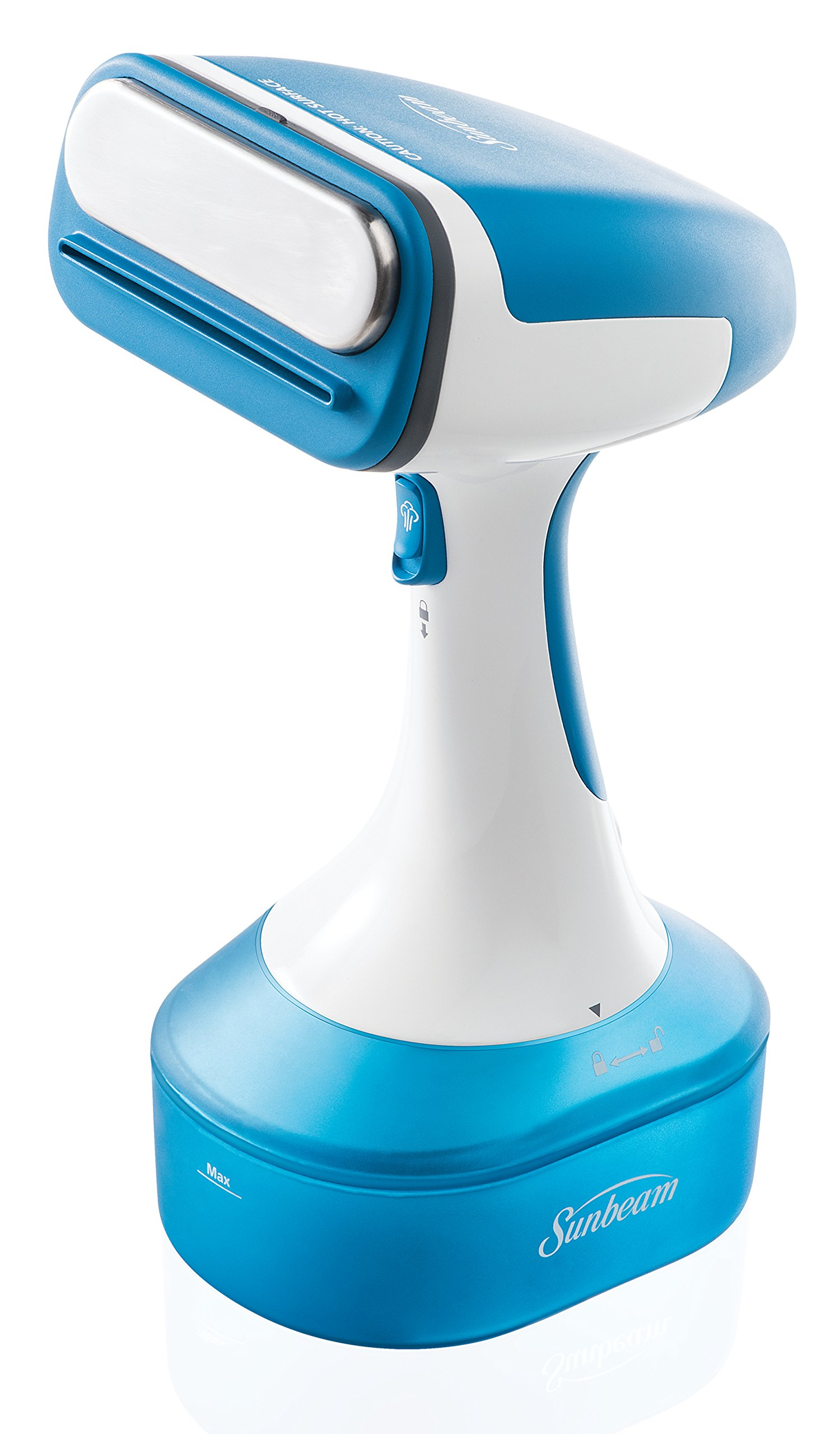Sunbeam Handheld Garment Travel Steam Press for Clothes, Bedding, Fabric, Odor removing, Dust mites, Bed bugs by Sunbeam