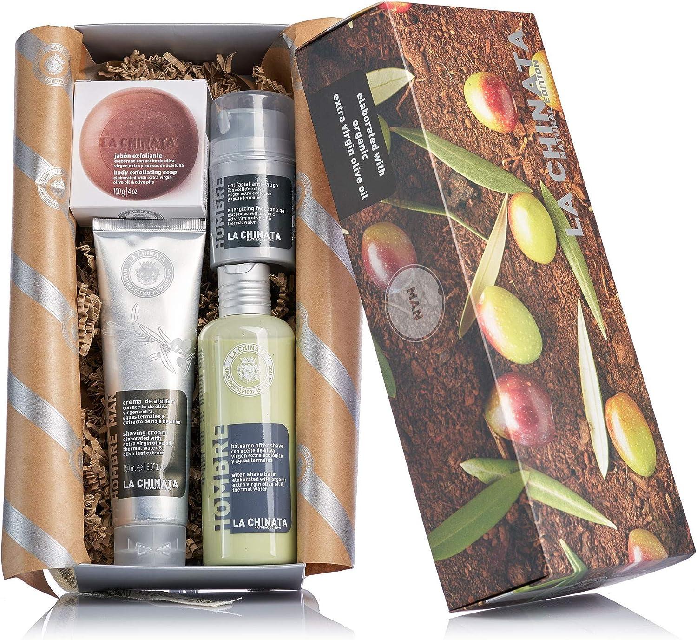 Caja regalo cosmética hombre La Chinata: Amazon.es: Alimentación y ...