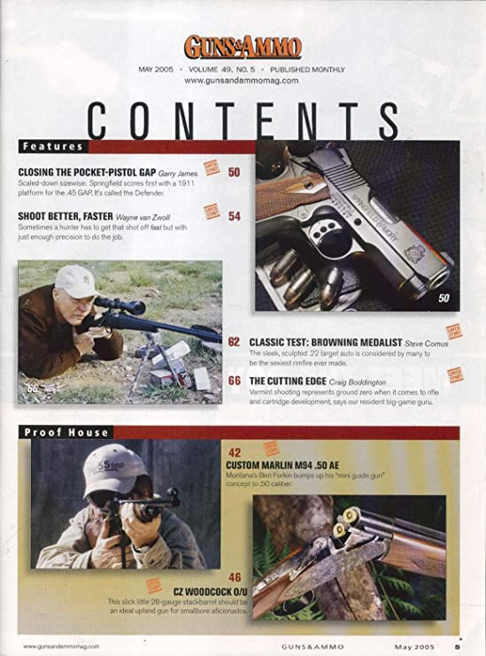 GUNS & AMMO Springfield Armory  45 GAP 1911 CZ Stackberrel