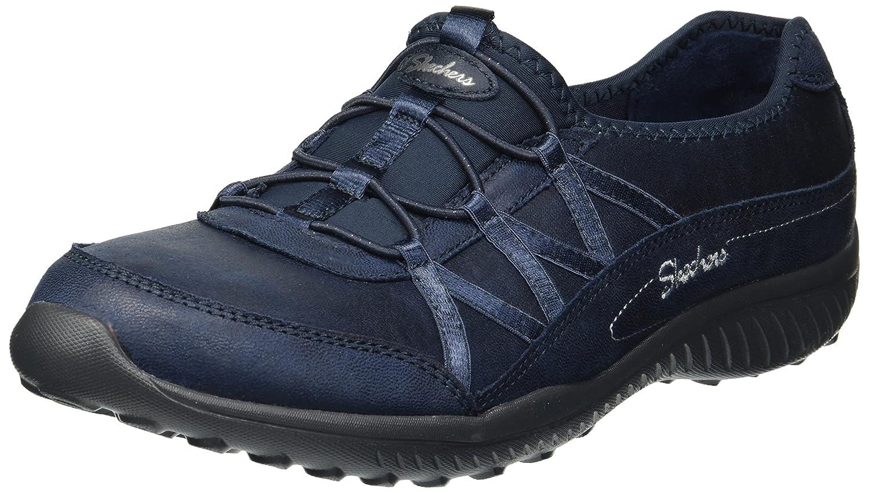 Skechers Women's Be-Light-Well-to-Do Sneaker B078YTSMHB 9 B(M) US|Navy