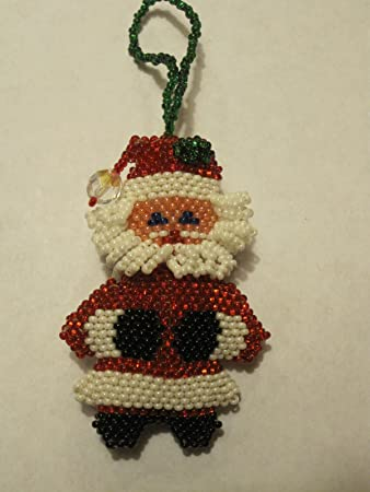 Santa Christmas Ornament Handmade in Guatemala - Amazon.com: Santa Christmas Ornament Handmade In Guatemala: Home