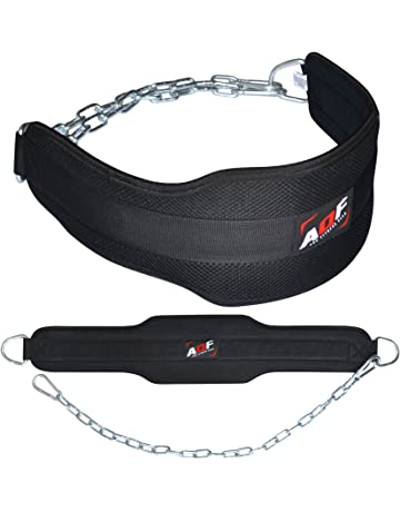 61592360eb AQF Dipping Belt Body Building Weight Lifting Dip Chain Exercise Gym  Training Neoprene