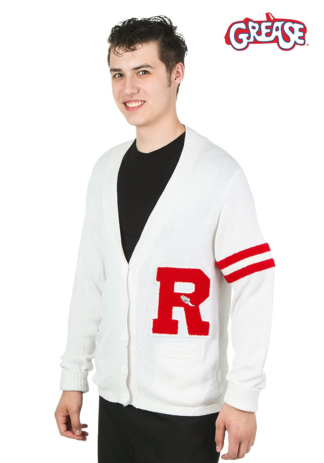 Men's Vintage Style Sweaters – 1920s to 1960s Fun Costumes mens Grease Rydell High Mens Sweater $49.99 AT vintagedancer.com