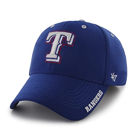 Amazon.com   MLB Texas Rangers  47 Brand Condenser Adjustable Cap ... 3ae39d26f