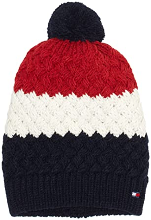 5319ce67669 Tommy Hilfiger Men s Chunky Bobble Beanie