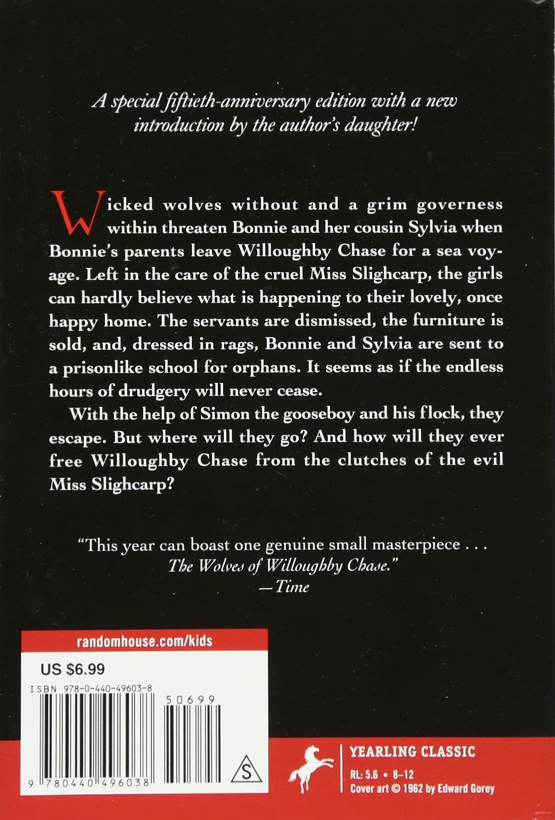 The Wolves Of Willoughby Chase (wolves Chronicles (paperback)): Joan Aiken:  9780440496038: Amazon: Books