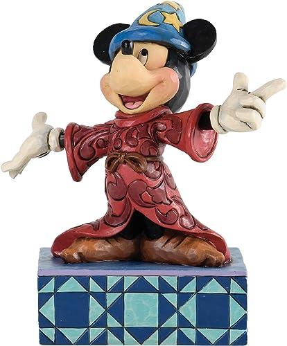 Jim Shore for Enesco Disney Traditions Sorcerer Mickey Figurine, 6.375-Inch
