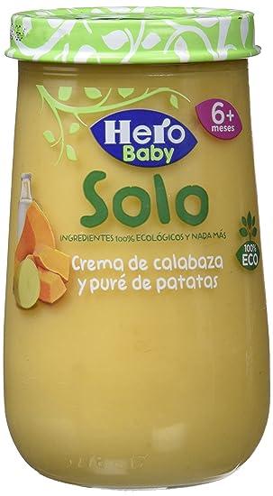 HERO BABY SOLO ECO CR CALABAZ PATAT 190G