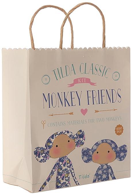 Tilda - Kit de Costura para Monos Pardon My Garden, con Cinta y Tela ...