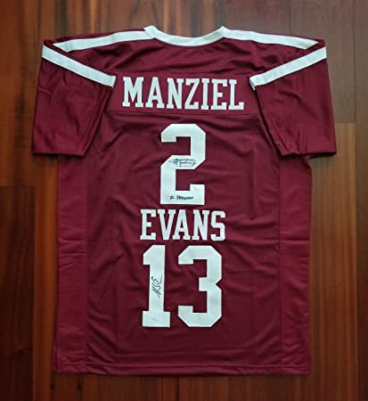hot sales 5414a 83399 Mike Evans Johnny Manziel Autographed Signed Jersey Texas ...