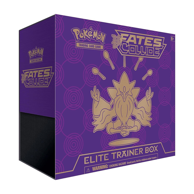 comprar barato Pokémon XY  10 Fates Collide Elite Trainer Trainer Trainer Box Toy - Juego de cartas  precios mas baratos