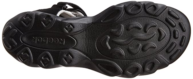 2ed6e92f26156 Reebok Men s Super Drive Black Sandals and Floaters - 11 UK  Buy Online at  Low Prices in India - Amazon.in