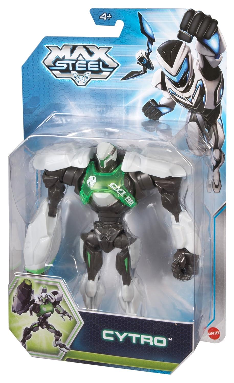 Figurilla de Max Steel - Cytro - Figura 14 cm licencia oficial: Amazon.es: Juguetes y juegos