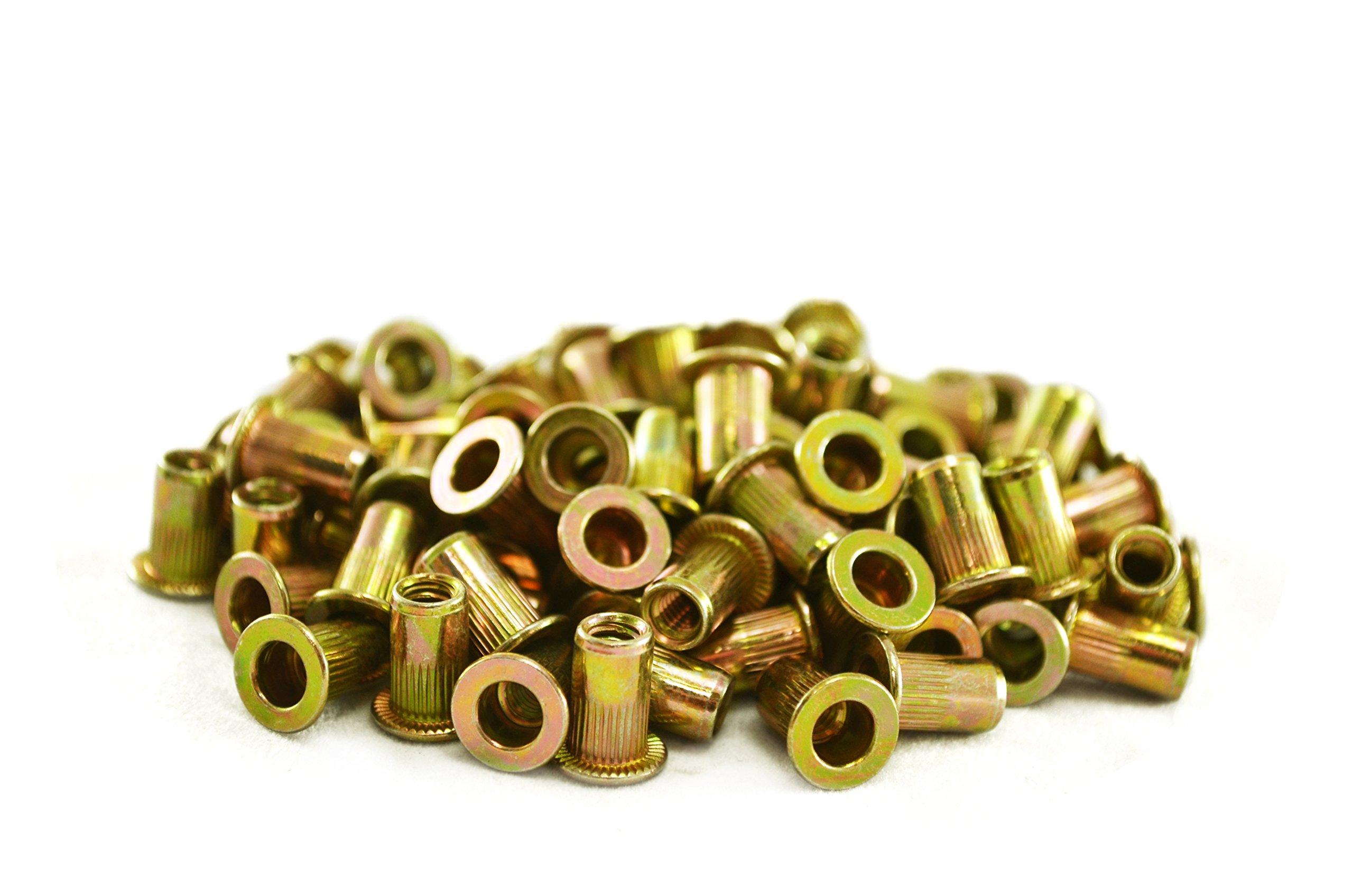 Astro Pneumatic Tool RN832 #8-32 Steel Rivet Nuts (100 Piece)