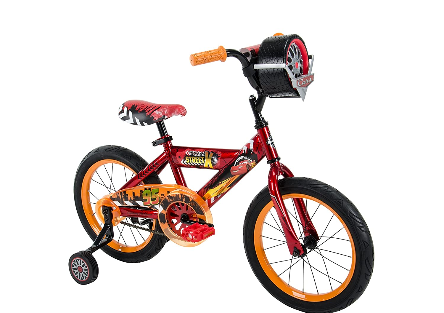 Huffy Bicycle Company 21786 Boys Disney Cars Bike, 16, Red/Black by Huffy Bicycle Company   B0188Z7HO0