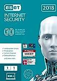 ESET Internet Security 2018 | 1 User | 1 Jahr Virenschutz | Windows (10, 8, 7 und Vista) | Download
