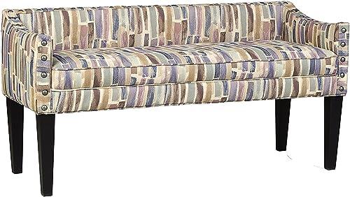 Leffler Home Whitney Transitional Long Upholstered Bench