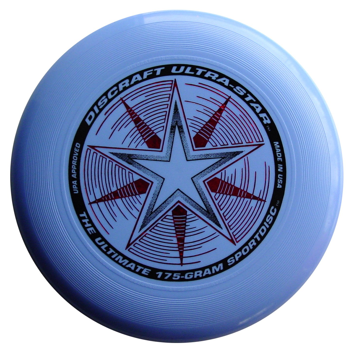 Discraft 175 gram Ultra Star Sport Disc, Light Blue with Deluxe Packaging by Discraft
