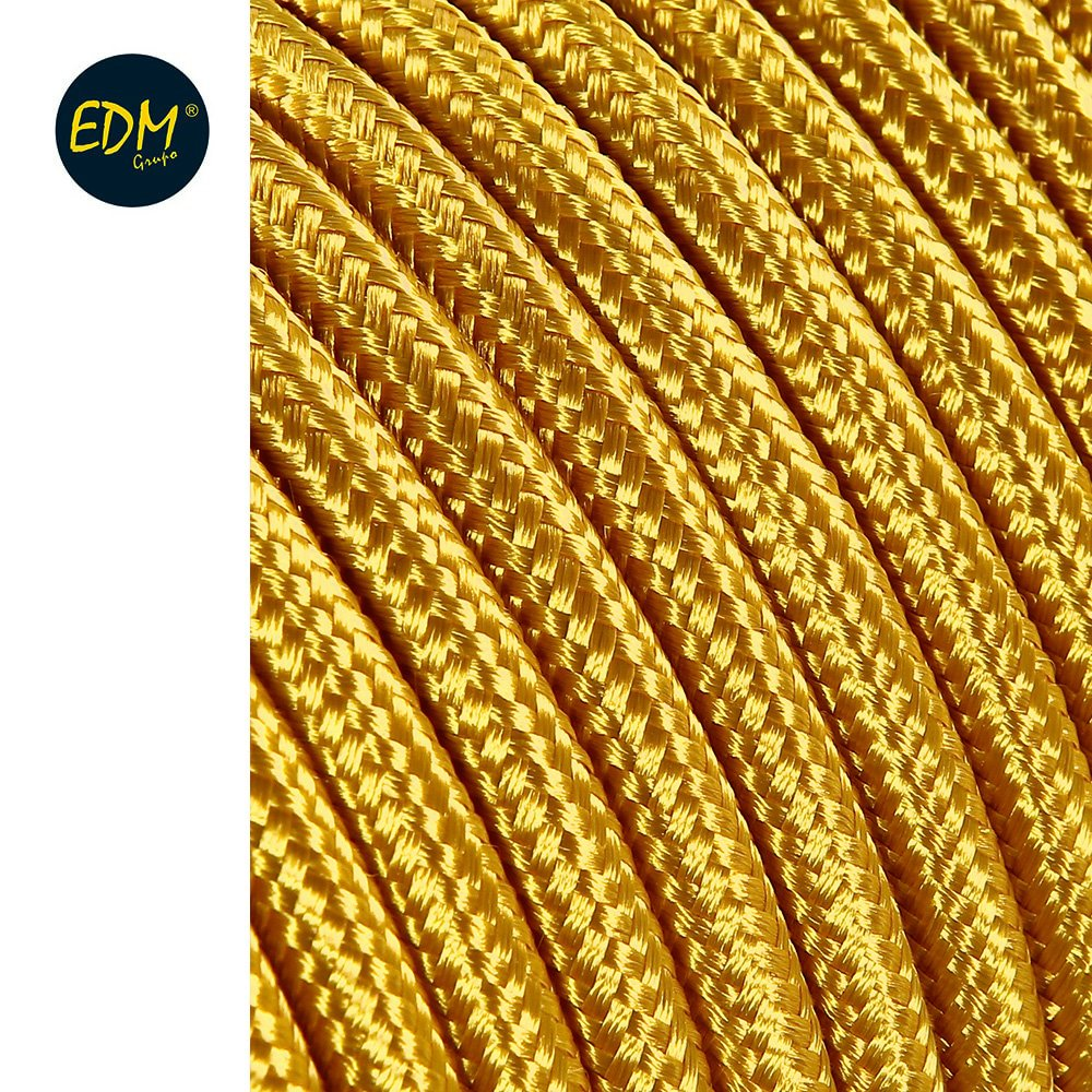 CABLE CORDON TUBULAIRE 2X0, 75MM C12 ORO 25M EDM