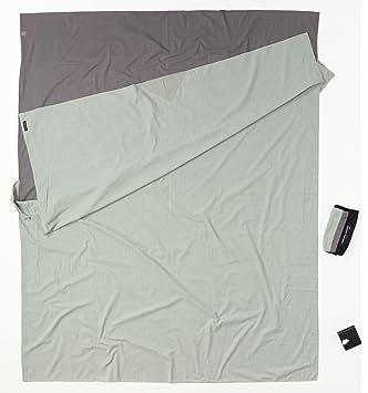 Cocoon TravelSheet - Sacos de dormir - Doublesize Cotton gris 2018