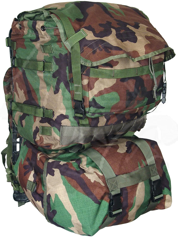 MOLLE II Woodland Camo Standard Rucksack, USGI Militärische, Made in ...