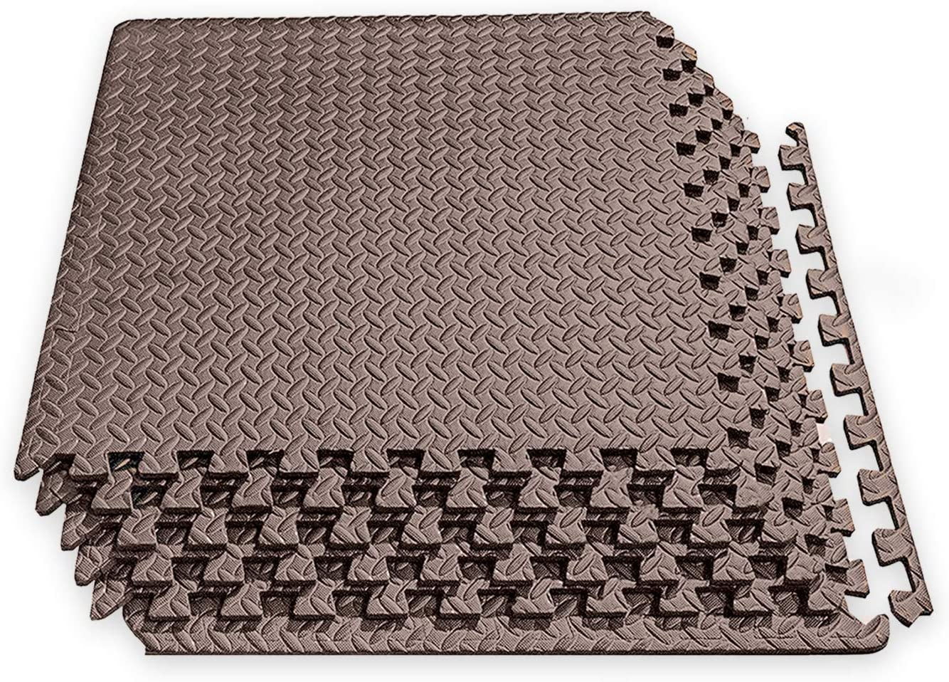 Play Mat Soft Foam Mat JTOOYS Floor Mat,20Pcs Foam floor mats for Kids Puzzle Foam Mat 30x30CM Children Patchwork Floor Mat Baby Crawling Mat Thicker 0.8cmMoisture-Proof Gym Mat