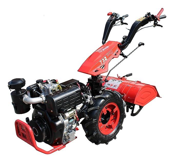 Motocultor profesional 10hp diesel: Amazon.es: Jardín