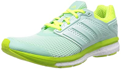 buy online 2362a 76fee adidas Supernova Glide 7 Boost Womens Running SneakersShoes-Green-5
