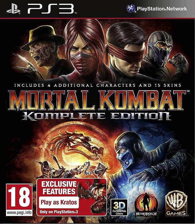 Mortal Kombat - Komplete Edition [Importación italiana]: Amazon.es ...