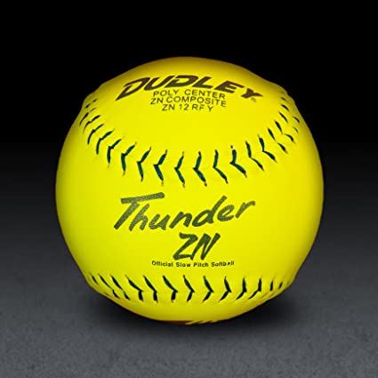 Dudley Usssa Thunder Zn Slow Pitch Softball 40 Cor