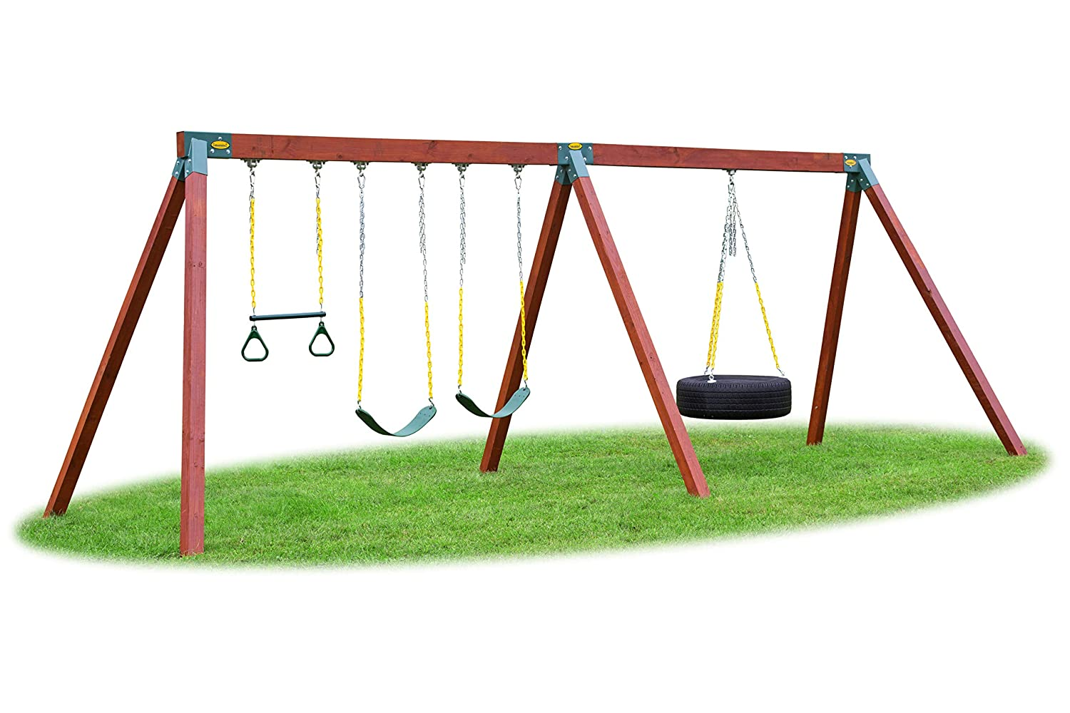 Eastern Jungle Gym Easy 1-2-3 90° A-Frame Swing Set Bracket Heavy Duty
