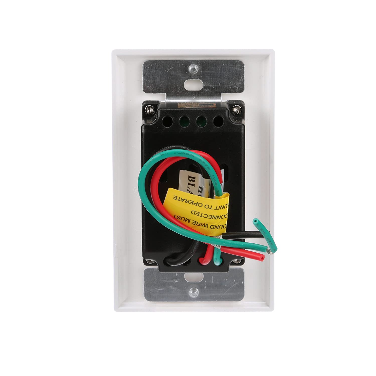Woods 59020wd In Wall 7 Day Digital Timer No Neutral Electrical Fan Switch Wiring Diagram As Well Double Pole Timers