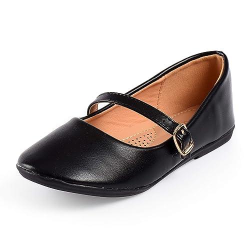 8e1ea0ae86e2 Nova Utopia Toddler Little Girls Dress Ballet Mary Jane Bow Flat Shoes