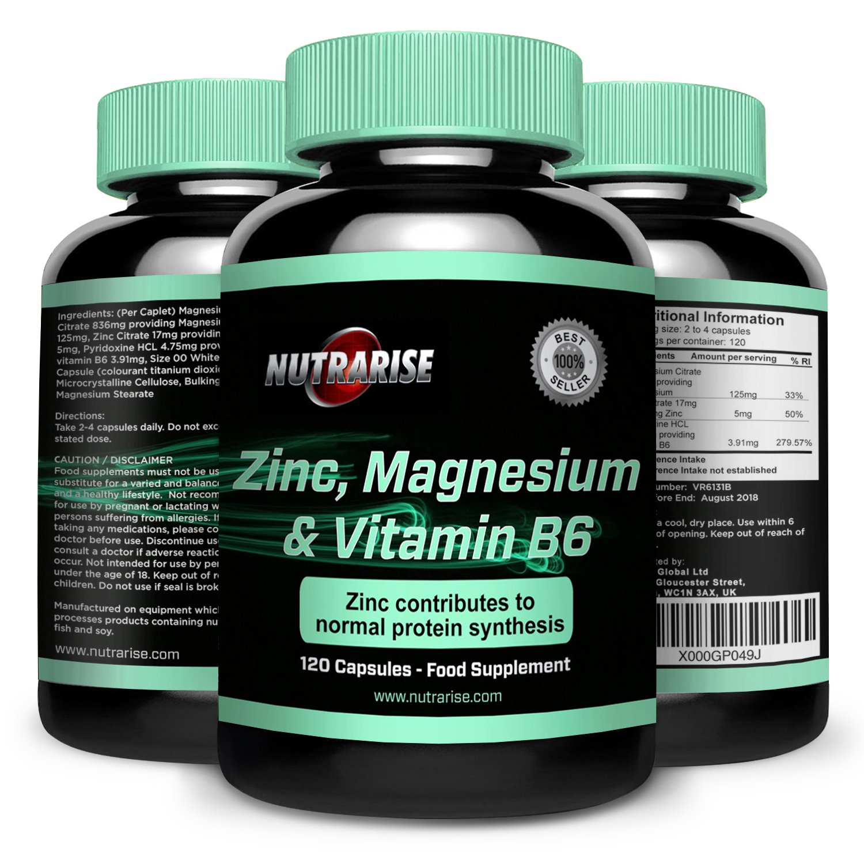 ZMA. Suplemento de Vitaminas y Minerales de alta calidad y potentes beneficios. Colabora con la recuperación muscular. Aumenta su fuerza, su tamaño y su ...